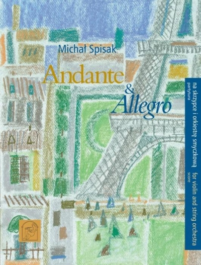 Andante i Allegro partytura Michał Spisak