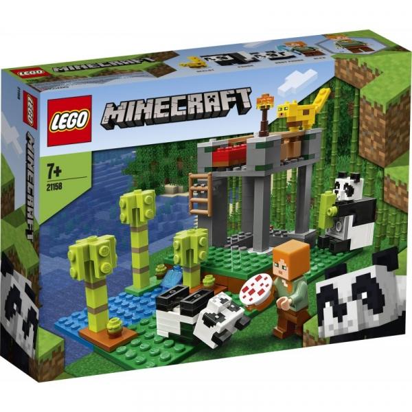 Lego Minecraft: Żłobek dla pand (21158) (Uszkodzone opakowanie)