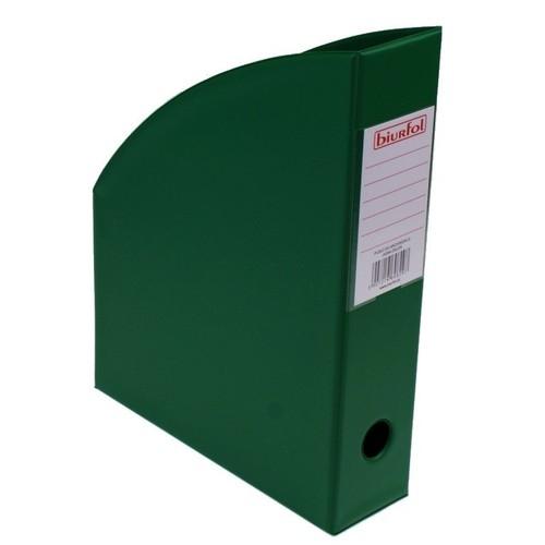 Pojemnik na czasopisma 7 cm ciemna zieleń