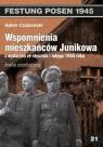 Wspomnienia mieszkańców Junikowa ze stycznia i lutego 1945 roku. Analiza socjologiczna