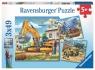 Puzzle 3w1: Duże maszyny budowlane (9226)