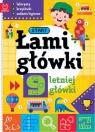 Łamigłówki 9-letniej główki Labirynty krzyżówki zadania logiczne