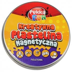 Kreatywna plastelina magnetyczna fioletowa