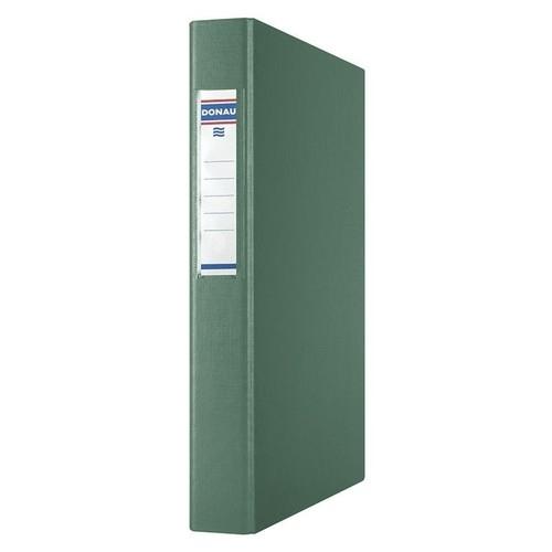 Segregator ringowy Donau PP A4/4R/25mm zielony (3734001PL-06)