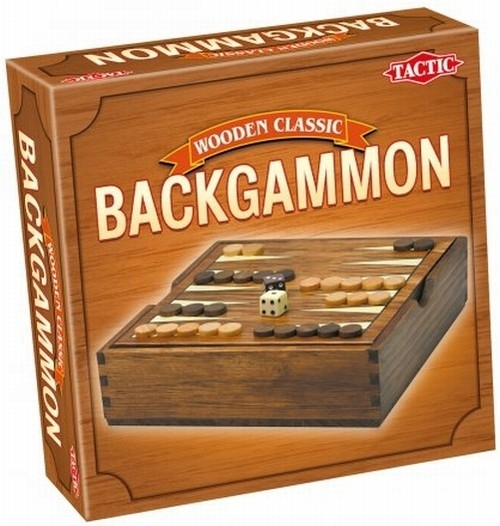 Wooden Classic Backgammon (14026)