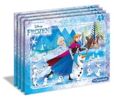 Puzzle ramkowe 15: Frozen