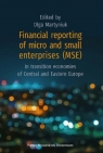 Financial reporting of micro and small enterprises (MSE) in transition economies