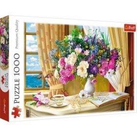 Puzzle 1000: Kwiaty o poranku (10526) Wiek: 12+
