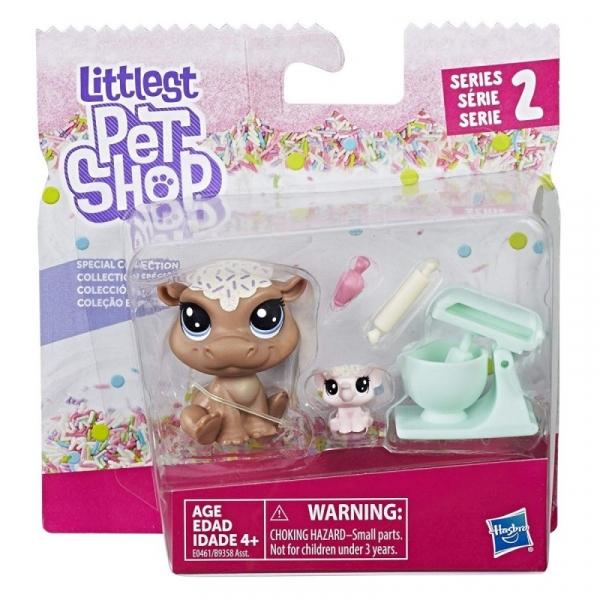 Littlest Pet Shop Para zwierzaków Hipopotam (B9358/E0461)