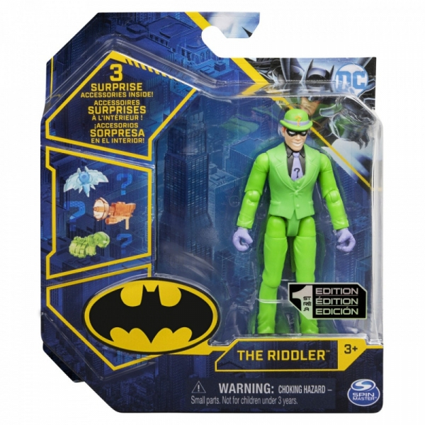 Figurka Batman 10 cm Riddler S1 V1 (6055946/20129812)