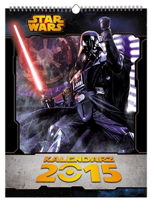 Star Wars Kalendarz ścienny na 2015
