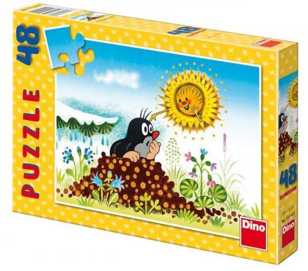 Puzzle 48 Krecik i słońce DINO