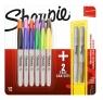 Markery Sharpie Fine kpl 12-kol + 2 metalic gratis (SHP-2061126)