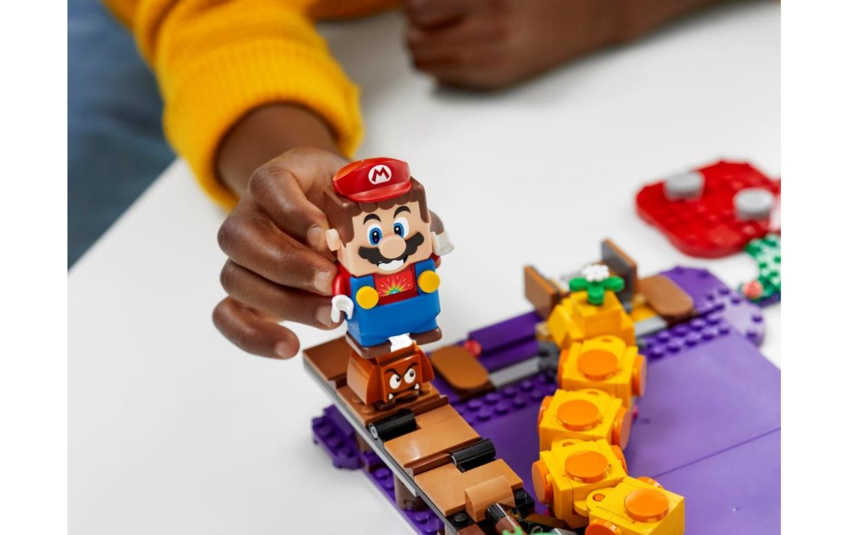 Lego Super Mario: Trujące bagno Wigglera - zestaw dodatkowy (71383)