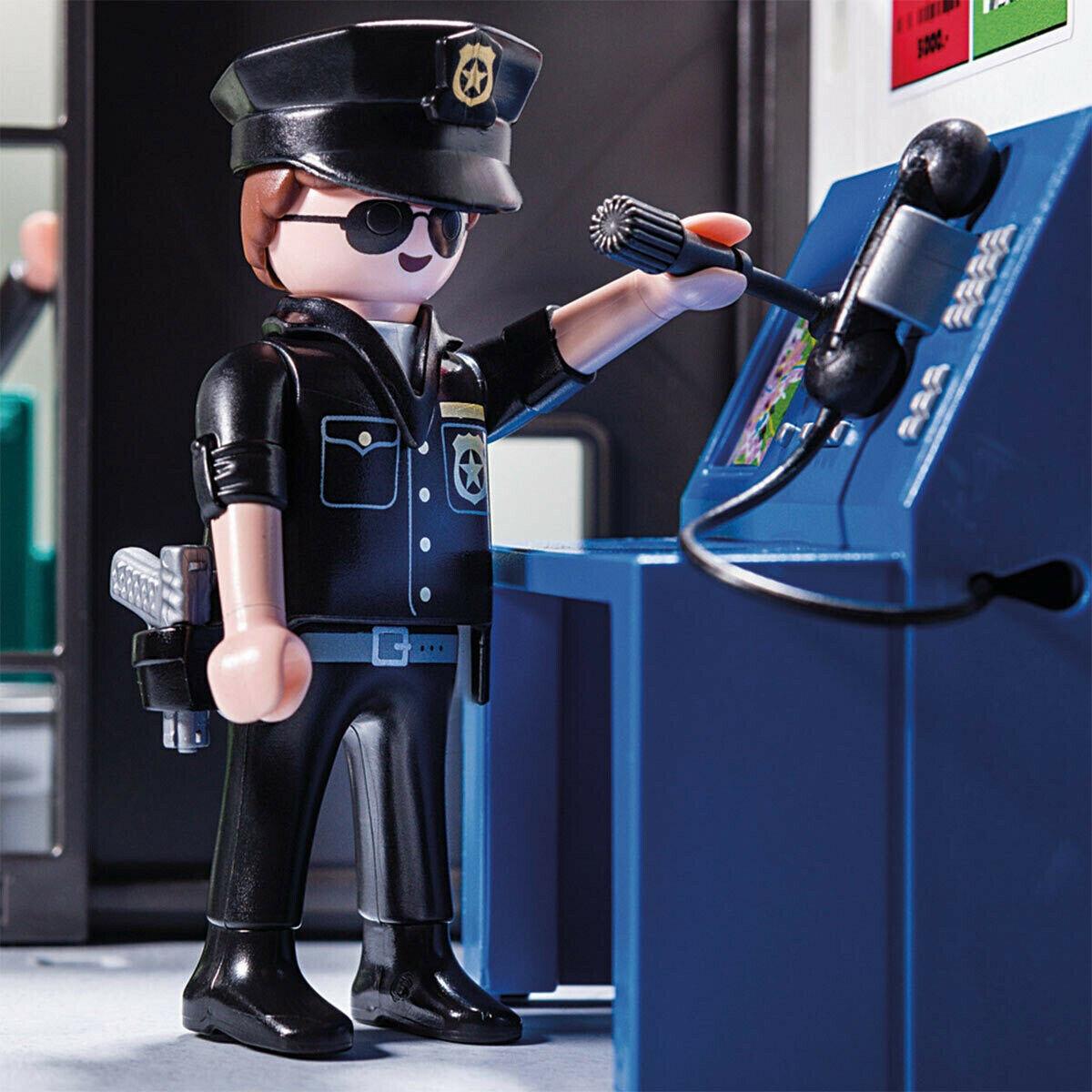 Playmobil City Action: Policja z helikopterem (70326)