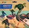 Wydrapywanka - 4 flamingi i przyjaciele