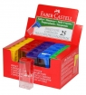 Temperówka plastikowa kontener mix kolorów Faber-Castell (581526)