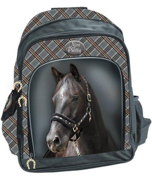 Plecak szkolny duży Koń