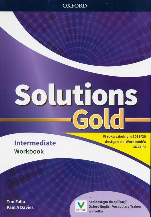 Solutions Gold Intermediate Workbook Falla Tim, Davies Paul A,