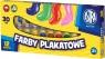 Farby Plakatowe w tubach 12 kolorów 30ml