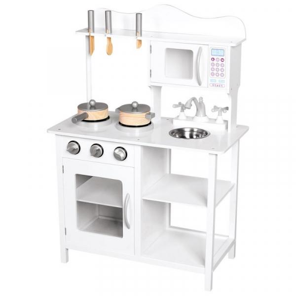 Kuchnia z akcesoriami 60x86x30cm-biała (83726)