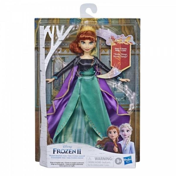 Lalka Frozen 2 Królewska śpiewająca Anna (E8881)