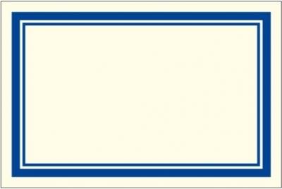 Naklejki dekoracyjne ETK 026 Niebieskie 6szt ROSSI
