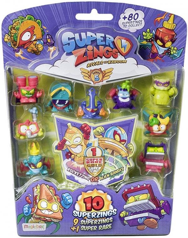 Super Zings: Seria 5 - 10-pak figurek MIX