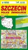 Szczecin, Police, Świnoujście 1:22 500 plan miasta