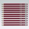 Ołówek techniczny z gumką B Titanum 12szt.