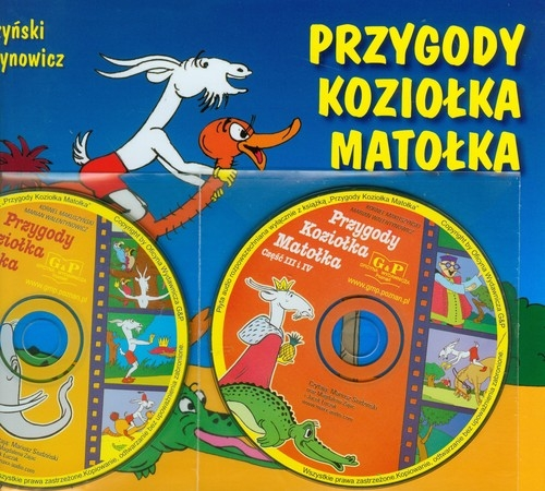 Przygody Koziołka Matołka z płytą CD Makuszyński Kornel