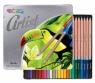 Kredki ołówkowe w metalowym pudełku Colorino Artist 24 kolory