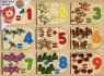 Puzzle drewniane układanka do nauki liczenia z dodawaniem (1524263)