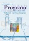 Chemia Program nauczania Liceum zakres podstawowy i rozszerzony Litwin Maria, Styka-Wlazło Szarota