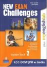 New Exam Challenges 2 Student's Book + MyEnglishLab Gimnazjum Harris Michael, Mower David, Sikorzyńska Anna