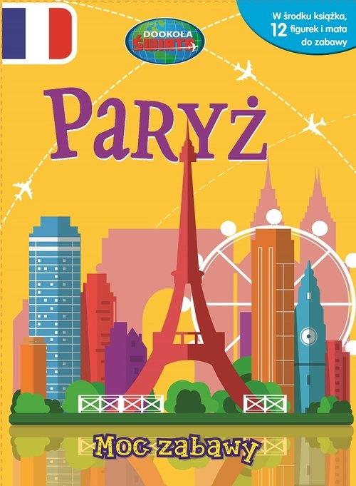 Paryż Książka z figurkami Moc zabawy
