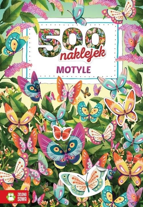 500 naklejek Motyle Opracowanie zbiorowe
