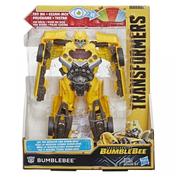 Figurka Transformets MV6 Mission Vision Bumblebee (E3496/E4104)