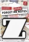Forget me sticky - notes kart samoprzylepnych litera Z