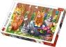 Puzzle 500: Kotki w ogrodzie (37326)