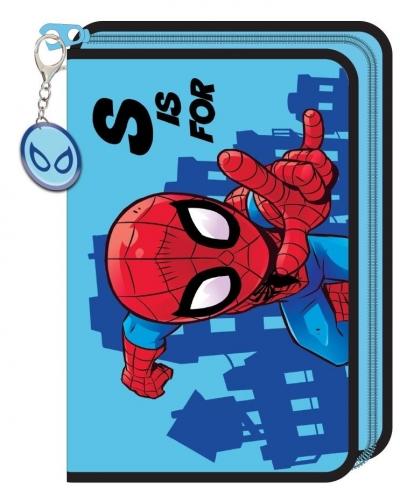 Piórnik z wyposażeniem na 1 zamek Spider Man