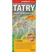 Tatry, 1:28 000 - mapa panoramiczna