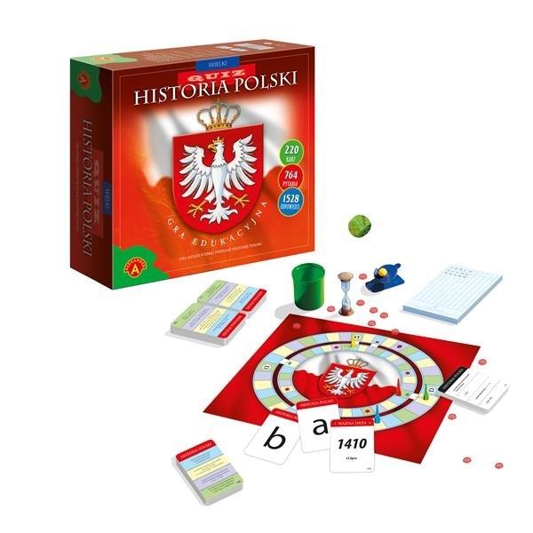 Wielki Quiz Historia Polski (0526) praca zbiorowa
