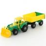 Majster traktor z przyczepą i łyżką (35264)