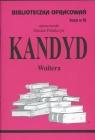 Biblioteczka Opracowań Kandyd Woltera Zeszyt nr 92 Polańczyk Danuta