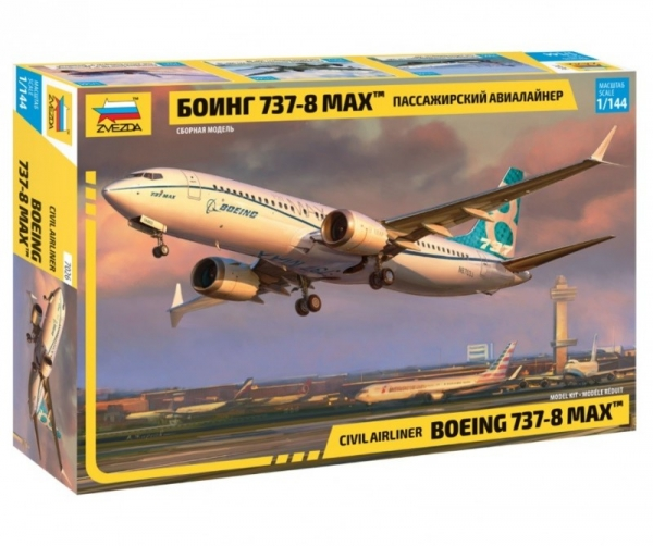Model plastikowy Boeing 737-8 Max (7026)