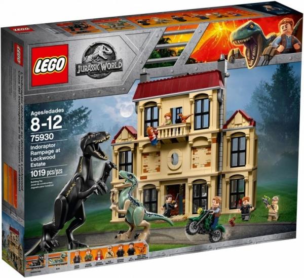 Lego Jurassic World: Atak indoraptora (75930)