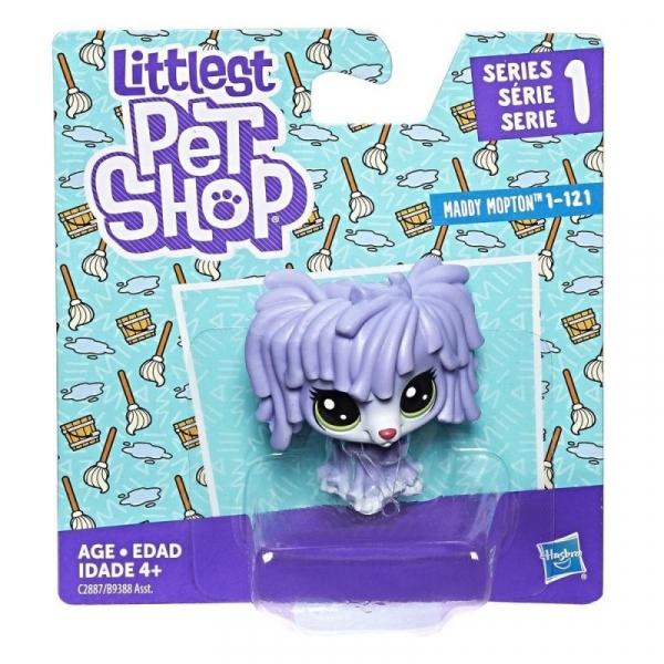 Littlest Pet Shop Figurki podstawowe Mop Dog (B9388/C2887)