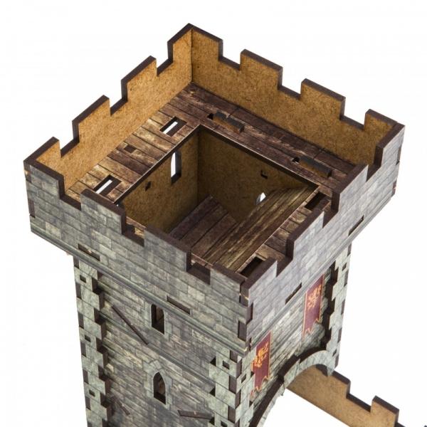 Wieża do Kości - Kolorowa Klasyczna Q-Workshop