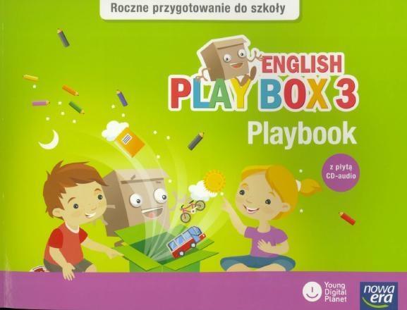 English Play Box. Część 3. Playbook z płytą CD-Audio - Wychowanie przedszkolne Adlard Rebecca